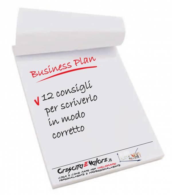 Business Plan - 12 consigli per scriverlo in modo corretto - Alessandro Cino